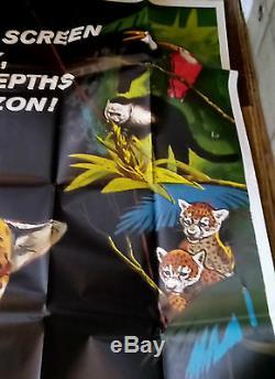 Affiche Du Film Jungle Cat James Algar Disney Winston Hibler Ub Iwerks 1959