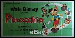 Affiche Originale Du Film Pinocchio