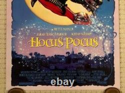 Affiche Théâtrale Originale De Disney Hocus Pocus 1993 Ds Mint 27 X 40 (numérotée)
