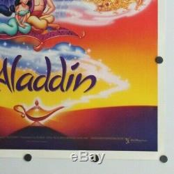 Aladdin 1992 Disney Double Sided Affiche Originale De Film 27 X 41