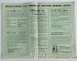 Alice Complète Pressbook 12x18 (good +) '51 Affiche Du Film Art Disney