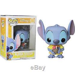 Aloha Stitch Lilo & Stitch Pop! Disney # 203 Vinyl Figur Funko