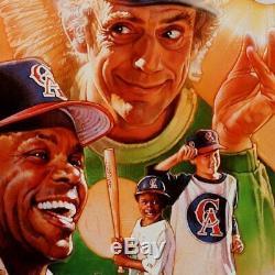 Anges Disney Dans Le Clap Outfield Anaheim Utilisé Screen Game 1994 Clapper
