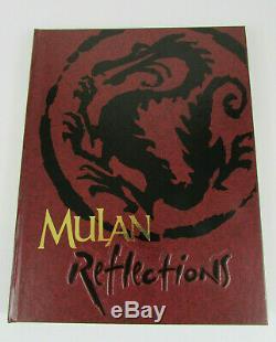 Annuaire De L'équipe De Tournage Disney Mulan 1998 Signé Par 16 Membres De L'équipe Et Des Artistes Très Rares
