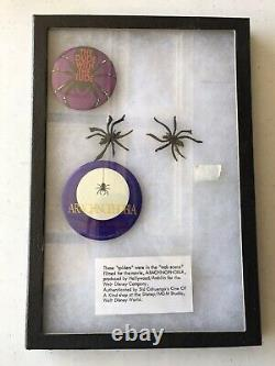 Arachnophobia Prop Spiders (film, Écran Utilisé Vintage De Disney-mgm)
