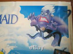 Bannière Cinématographique The Little Mermaid De Disney, 8 Pieds X 3 Pieds, Menthe