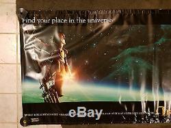 Bannière Promotionnelle En Vinyle Du Pavillon De Cinéma Treasure Planet De Disney (4 'x 10')