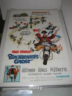 Blackbeard's Ghost Disney (1968) Us Authentic Original 27x41 Affiche De Film (468)