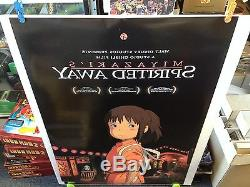 Boite De 25 Loin Spirited Affiche Du Film 27x40 Une Feuille De Disney Miyazaki