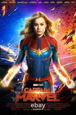 Capitaine Marvel Nouveau Cast Crew Film Challenge Coin Rare Disney