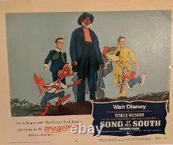 Cartes De Lobby Disney Song Of The South 1956- Ensemble De 8