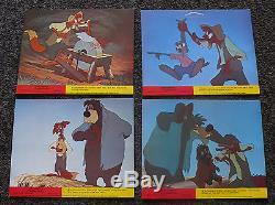 Chanson De La Carte De Lobby Britannique Du Sud Des Années 60 Br'er Fox Rabbit Bear Remus Disney