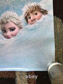 Congelés Et Surgelés 2 Original Movie Poster 27x40 Ds Lot De 2 2013 Et 2019 Disney U. S