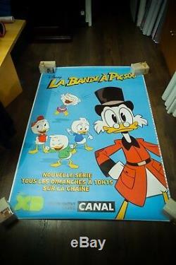 Contes De Canard Walt Disney Très Rare 4x6 Ft Abri Bus Affiche De Film Originale 2017