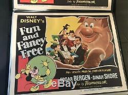 Coquin De Printemps 1947 Carte Originale Hall Edgar Bergen Disney Rko High Grade