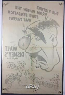 Der Fuehrer's Face Affiche De Film Une Feuille'42, Donald Duck, Le Nazi Donald II De La Seconde Guerre Mondiale