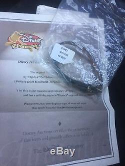 Disney 101 Dalmations Original Film Prop Mémorable Tag Dipstick Dog Tag