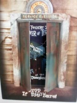 Disney 2004 Tour Of Terror Grand Ouvrir Le Dossier De Presse Twilight Zone Ca Adventure
