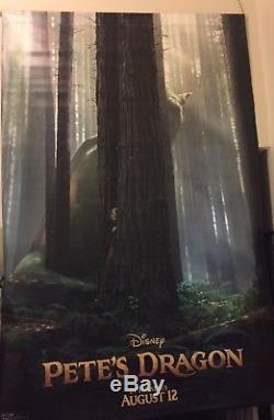 Disney Bfg & Pete's Dragon 8ftx5ft Film De Cinéma Vinyle 2 Face Authentique Regal