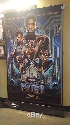 Disney Black Panther / Wrinkle Bannière D'affiche De Film Vinyle Originale 8x5 Pi