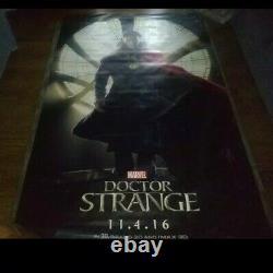 Disney Docteur Strange Moana 8' X 5' Vinyl Movie Theatre Banner