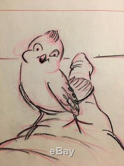 Disney Dumbo Œuvres Originales Storyboard Art