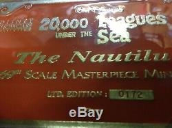 Disney / Icons 31 20 000 Lieues Réplique Du Sous-marin Nautilus Rare