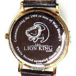 Disney Le Roi Lion Commémoratif Très À Collectionner, One Of A Kind, Misprint Montre