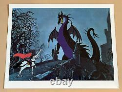Disney Lobby Cards Sleeping Beauty Set Of 8 Unused 1er Album 1959