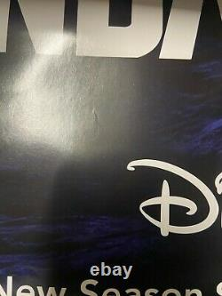 Disney Plus The Mandalorian 27x40 Double Sided Ds Movie Poster Authentique