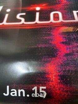 Disney Plus Wandavision Teaser Movie Poster 27x40 Double Sided Ds Authentique