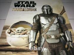 Disney Star Wars Lucasfilm The Mandalorian 2020 Mnt Ds Teaser Promo Movie Affiche