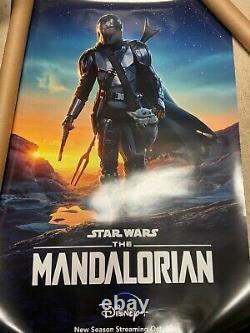 Disney Star Wars The Mandalorian 27x40 Double Face Ds Affiche De Cinéma Authentique F