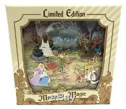 Disney Trading Pins Medieval Magic Robin Des Bois 5 Pin Set Limited Edition 1000 Nouveau