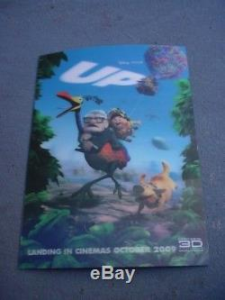 Disney Up 3-d Affiche Movie Très - Très - Rare-trouver Un Autre Juste