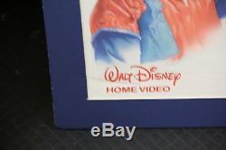 Disney Vintage Certifié Film The Blue Yonder Poster Aka Temps Flyer 30x23
