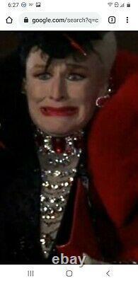 Disney's 102 Dalmatiens Glenn Close Pour Cruella De VIL Armoire De Film Worn