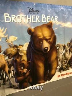 Disney's Brother Bear 2 Sided Vinyl Film Banner Huge! Affiche De 119x49 Pouces G5