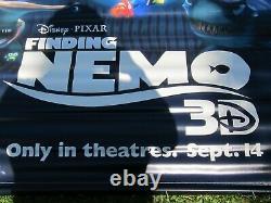 Disney's Finding Nemo & Wreck It Ralph 2012 Original 5x8' Ds Film Vinyl Banner