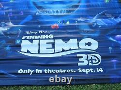 Disney's Finding Nemo & Wreck It Ralph 2012 Original 5x8' Ds Movie Vinyl Banner