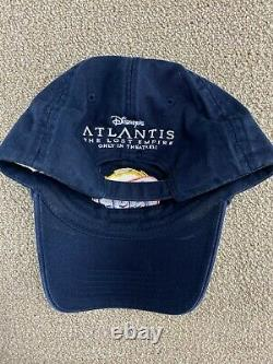 Disneys Atlantis The Lost Empire Hat Strapback Movie Promo Lays Chips Bleu