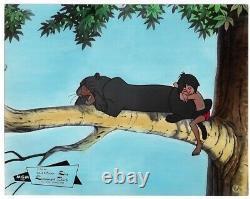 Dschungelbuch Walt Disney Ea Aushangfoto #16 Sehr Schöner Zustand
