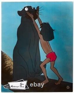 Dschungelbuch Walt Disney Ea Aushangfoto #39 Sehr Schöner Zustand