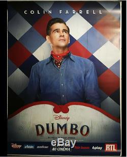 Dumbo Ensemble Complet De 6 Affiches De Cinéma Affiche De 6 X 6 Pi D / S Pour Abribus Disney Tim Burton
