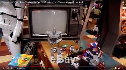 Écran Utilisé Le Jouet Géant De Fer Figure Disney Tomorrowland Film Britt Robertson