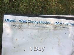 Énorme Vinyle Bannière Star Wars Movie Faite Pour Walt Disney 19 'x 23' Faire Offre Maintenant