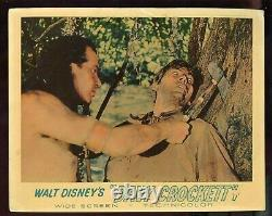 Ensemble Complet Disney Davy Crockett English Lobby Cards King Of The Wild Frontier
