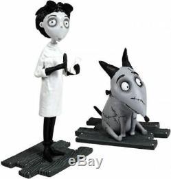 Ensemble De 2 Figurines Frankenweenie After Life Et Tim Victor De Tim Burton, Disney