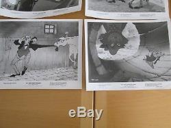 Ensemble Vintage De 12 Film D'animation Disney Les Aristochats 8x10 Photo Stills