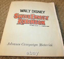 Famille Suisse Robinson Walt Disney Advance Campagne Mater Presse Kit